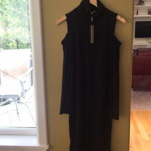 NWT Calvin Klein long black dress